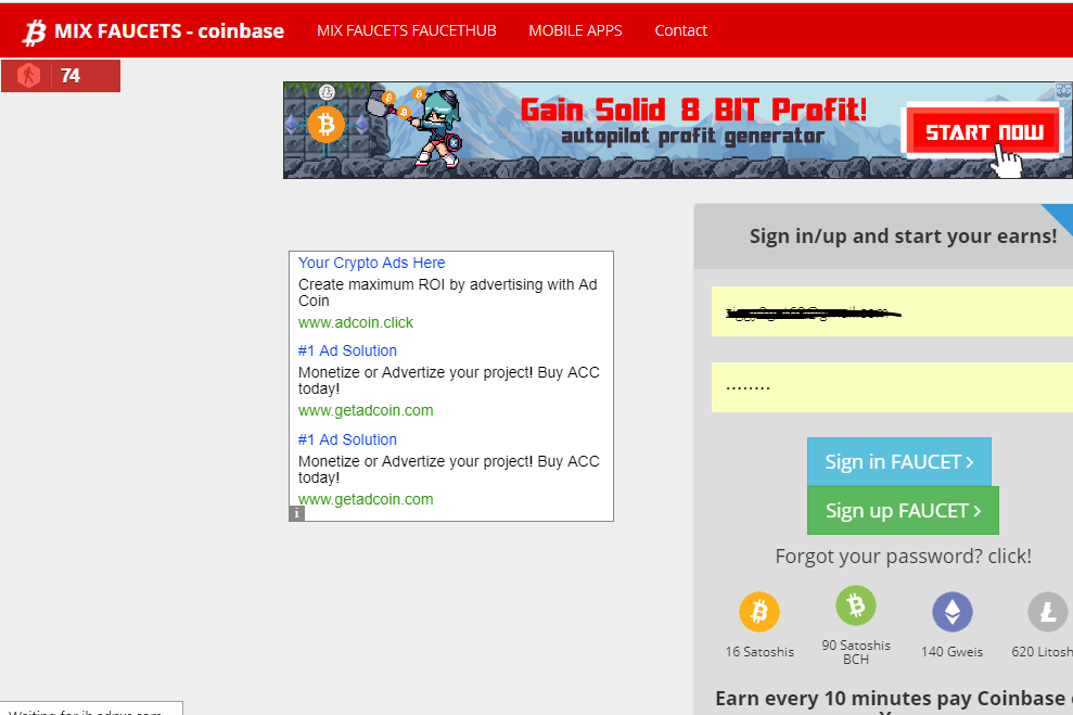 Bitcoin Faucet Autopilot Transferring Money From Coinbase To Bank